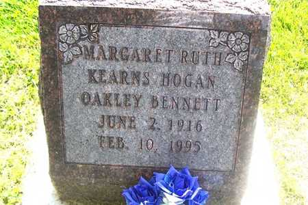KEARNS HOGAN OAKLEY BENNETT, MARGARET RUTH - Linn County, Iowa | MARGARET RUTH KEARNS HOGAN OAKLEY BENNETT