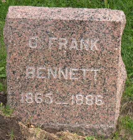 BENNETT, O. FRANK - Linn County, Iowa | O. FRANK BENNETT