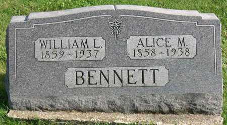 BENNETT, WILLIAM L. - Linn County, Iowa | WILLIAM L. BENNETT