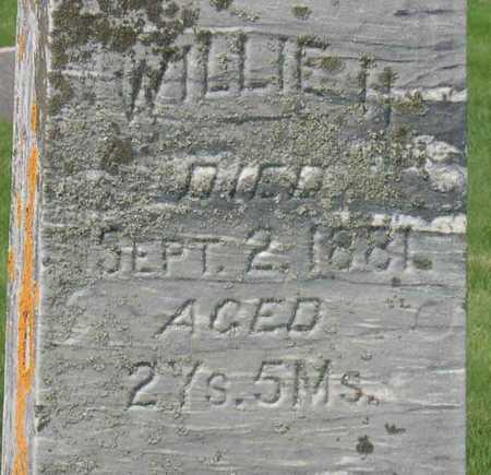 BENNETT, WILLIE H. - Linn County, Iowa   WILLIE H. BENNETT
