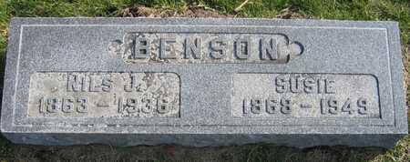 BENSON, NILS J. - Linn County, Iowa | NILS J. BENSON