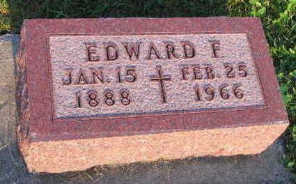 BERANEK, EDWARD F. - Linn County, Iowa   EDWARD F. BERANEK