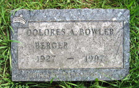 BOWLER BERGER, DOLORES A. - Linn County, Iowa | DOLORES A. BOWLER BERGER