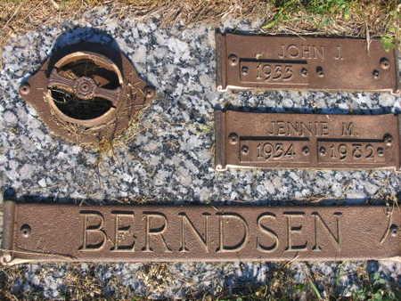BERNDSEN, JOHN J. - Linn County, Iowa   JOHN J. BERNDSEN