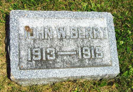 BERRY, JOHN W. - Linn County, Iowa | JOHN W. BERRY