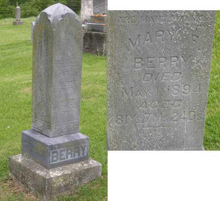 BERRY, MARY F. - Linn County, Iowa | MARY F. BERRY