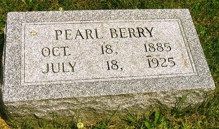 BERRY, PEARL - Linn County, Iowa | PEARL BERRY