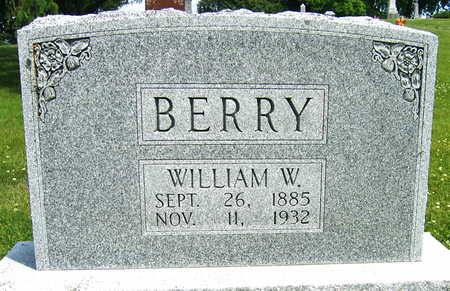 BERRY, WILLIAM W. - Linn County, Iowa   WILLIAM W. BERRY