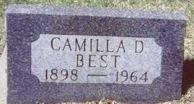 BEST, CAMILLA D. - Linn County, Iowa | CAMILLA D. BEST