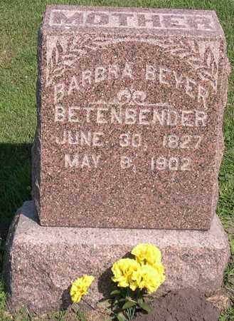 BEYER BETENBENDER, BARBRA - Linn County, Iowa | BARBRA BEYER BETENBENDER