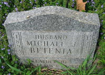 BETENIA, MICHAEL J. - Linn County, Iowa | MICHAEL J. BETENIA