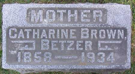 BETZER, CATHARINE - Linn County, Iowa | CATHARINE BETZER