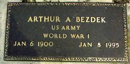 BEZDEK, ARTHUR A. - Linn County, Iowa   ARTHUR A. BEZDEK