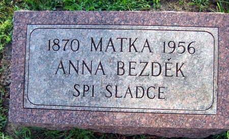 BEZDEK, ANNA - Linn County, Iowa   ANNA BEZDEK