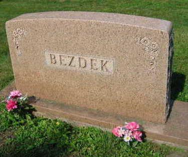 BEZDEK, FAMILY STONE - Linn County, Iowa | FAMILY STONE BEZDEK