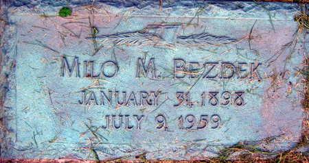 BEZDEK, MILO M. - Linn County, Iowa | MILO M. BEZDEK