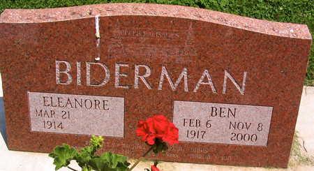 BIDERMAN, BEN - Linn County, Iowa | BEN BIDERMAN