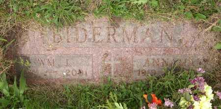 BIDERMAN, ANNA MAE - Linn County, Iowa | ANNA MAE BIDERMAN