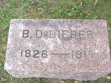 BIEBER, B. D. - Linn County, Iowa | B. D. BIEBER
