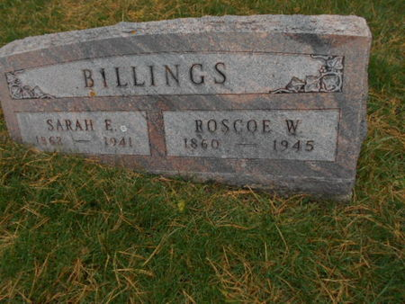 BILLINGS, ROSCOE W. - Linn County, Iowa | ROSCOE W. BILLINGS