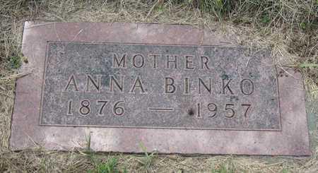 BINKO, ANNA - Linn County, Iowa | ANNA BINKO
