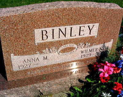 BINLEY, WILMER N. JR. - Linn County, Iowa   WILMER N. JR. BINLEY