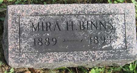 BINNS, MIRA H. - Linn County, Iowa | MIRA H. BINNS