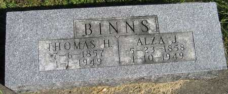 BINNS, THOMAS H. - Linn County, Iowa | THOMAS H. BINNS