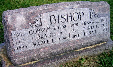 BISHOP, CORWIN S. - Linn County, Iowa | CORWIN S. BISHOP