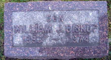 BISKUP, WILLIAM J. - Linn County, Iowa   WILLIAM J. BISKUP