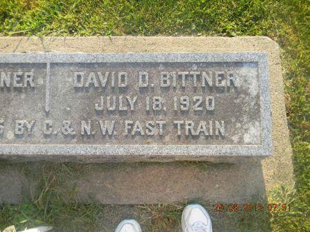 BITTNER, DAVID D. - Linn County, Iowa   DAVID D. BITTNER