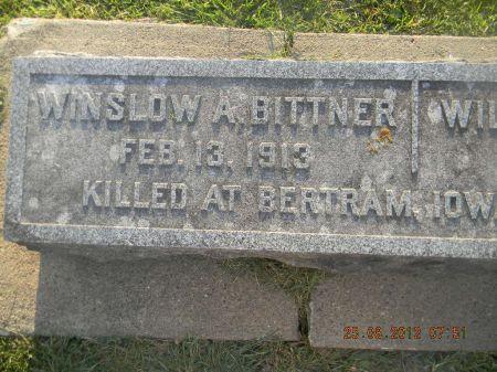 BITTNER, WINSLOW A. - Linn County, Iowa   WINSLOW A. BITTNER
