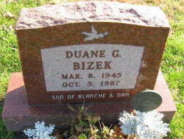 BIZEK, DUANE G - Linn County, Iowa | DUANE G BIZEK