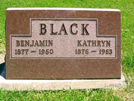 BLACK, BENJAMIN - Linn County, Iowa | BENJAMIN BLACK