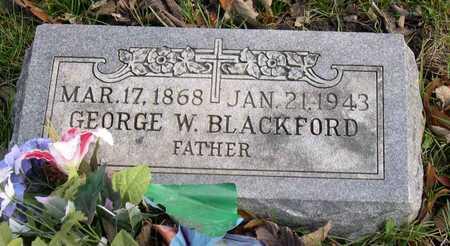 BLACKFORD, GEORGE W. - Linn County, Iowa | GEORGE W. BLACKFORD