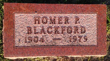 BLACKFORD, HOMER P. - Linn County, Iowa | HOMER P. BLACKFORD