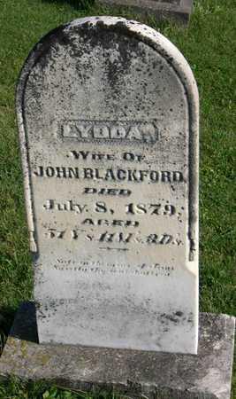 BLACKFORD, LYDDA - Linn County, Iowa   LYDDA BLACKFORD