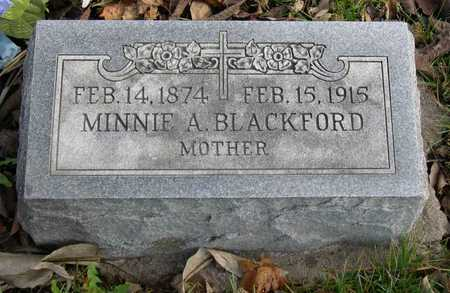 BLACKFORD, MINNIE A. - Linn County, Iowa | MINNIE A. BLACKFORD