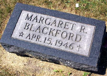 BLACKFORD, MARGARET R. - Linn County, Iowa | MARGARET R. BLACKFORD