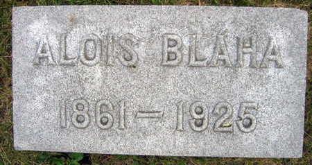 BLAHA, ALOIS - Linn County, Iowa   ALOIS BLAHA