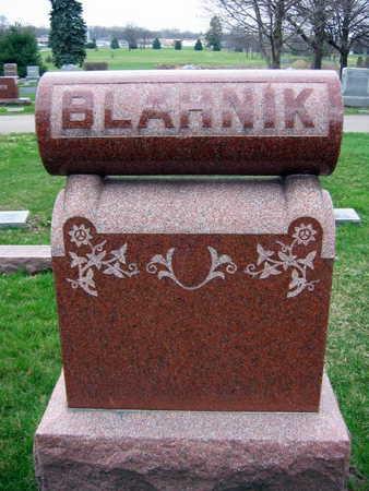 BLAHNIK, FAMILY STONE  (BLAHNIK RERICHA) - Linn County, Iowa | FAMILY STONE  (BLAHNIK RERICHA) BLAHNIK