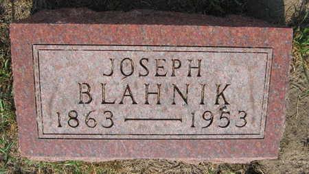 BLAHNIK, JOSEPH - Linn County, Iowa | JOSEPH BLAHNIK