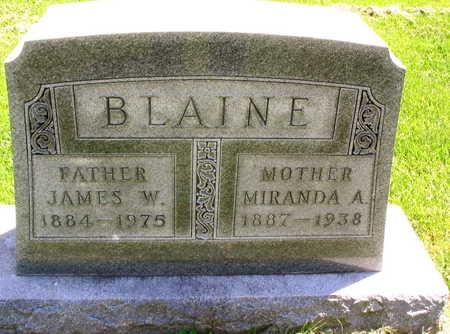BLAINE, MIRANDA A. - Linn County, Iowa | MIRANDA A. BLAINE