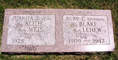 STONEKING BLAKE LEHEW, RUBY C. - Linn County, Iowa | RUBY C. STONEKING BLAKE LEHEW