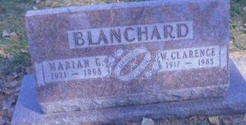 BICKFORD BLANCHARD, MARIAN G - Linn County, Iowa | MARIAN G BICKFORD BLANCHARD