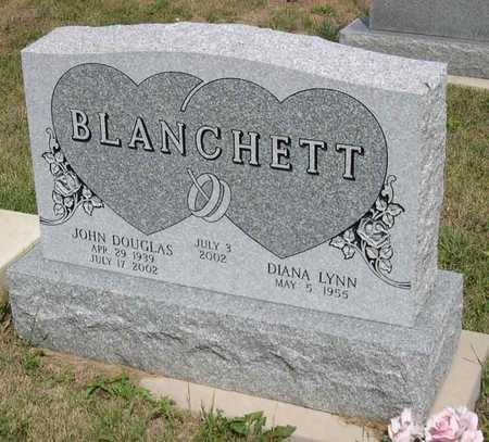 BLANCHETT, JOHN DOUGLAS - Linn County, Iowa   JOHN DOUGLAS BLANCHETT