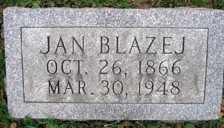 BLAZEJ, JAN - Linn County, Iowa | JAN BLAZEJ