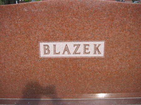 BLAZEK, FAMILY STONE - Linn County, Iowa | FAMILY STONE BLAZEK