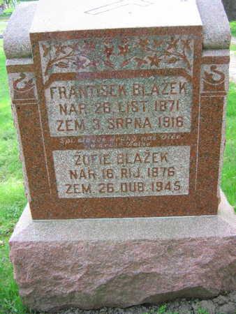 BLAZEK, FRANTISEK - Linn County, Iowa | FRANTISEK BLAZEK
