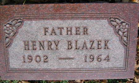 BLAZEK, HENRY - Linn County, Iowa   HENRY BLAZEK